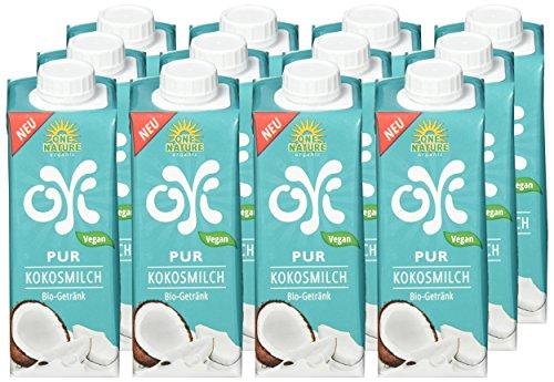 ONE NATURE organic OYI Pur Kokosmilch Bio-Getränk, 12er Pack (12 x 250 ml) - 2