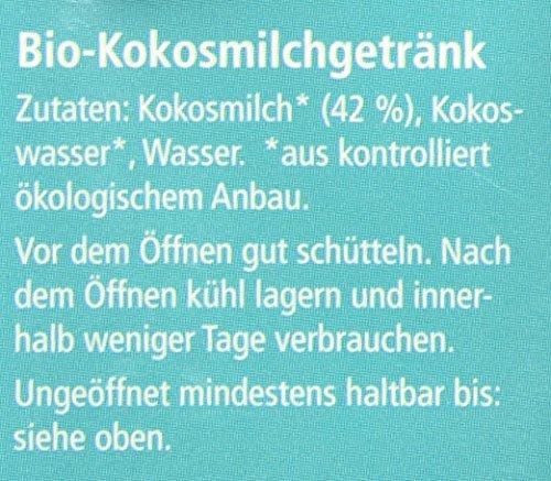 ONE NATURE organic OYI Pur Kokosmilch Bio-Getränk, 12er Pack (12 x 250 ml) - 4
