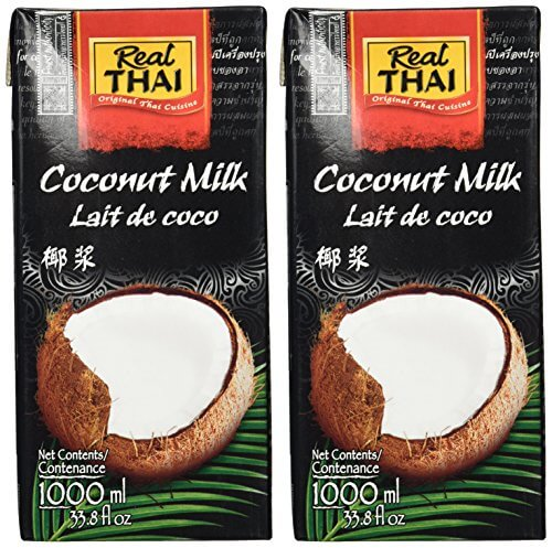 Real Thai Kokosnussmilch Tetra Pak, 2er Pack (2 x 1 l) - 2