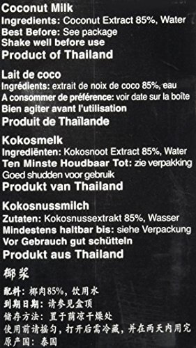 Real Thai Kokosnussmilch Tetra Pak, 2er Pack (2 x 1 l) - 4