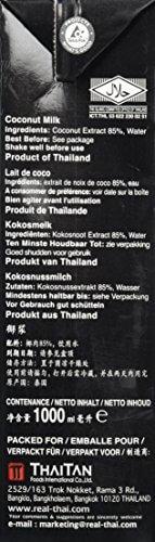 Real Thai Kokosnussmilch Tetra Pak, 2er Pack (2 x 1 l) - 5