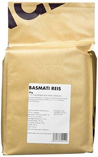 Reishunger Basmati Reis, Pusa 1121 Basmati, Indien, Himalaya (3 x 3 kg) [in allen Größen erhältlich: 200 g bis 9kg] - 4