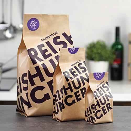 Reishunger Kleb Reis, Thailand (3kg) Weißer Süß Reis – erhältlich in 200 g bis 9 kg - 3