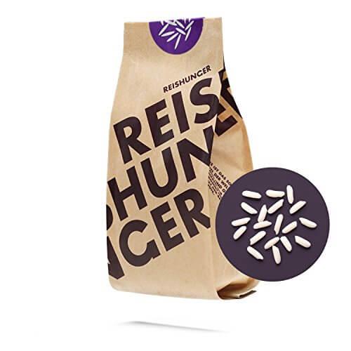Reishunger Kleb Reis, Thailand (3kg) Weißer Süß Reis – erhältlich in 200 g bis 9 kg - 1
