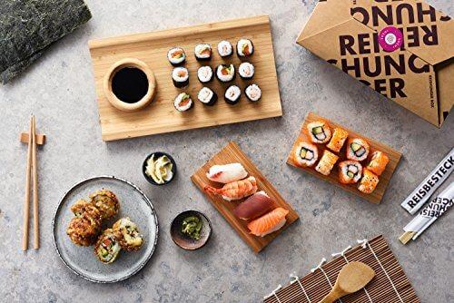 Reishunger Sushi Box (8-teilig, für bis zu 4 Personen) Komplett-Set mit Original Japanischen Zutaten – perfekt auch als Geschenk - 2