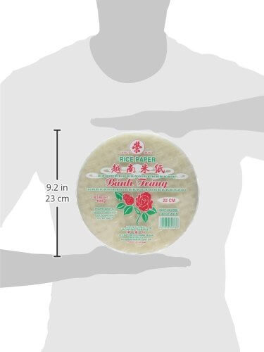 Reispapier (Frühlingsrolle Wickel) 22cm 400g by Banh Trang - 5