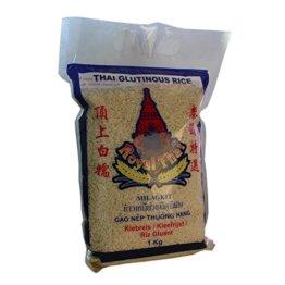 Royal Thai - Klebreis Sticky Rice - 3er Pack (3 x 1kg) - Original Thai - 1