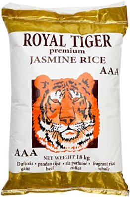 Royal Tiger Reis Jasmin, 1er Pack (1 x 18 kg) - 1