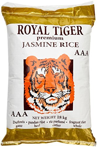 Royal Tiger Reis Jasmin, 1er Pack (1 x 18 kg) - 1