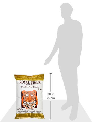 Royal Tiger Reis Jasmin, 1er Pack (1 x 18 kg) - 4