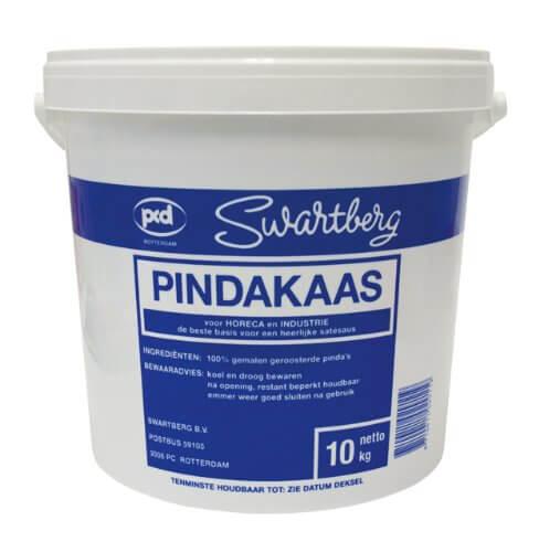 Swartberg Erdnusspaste, 100% Erdnüsse, 1er Pack (1 x 10 kg Packung) - 1