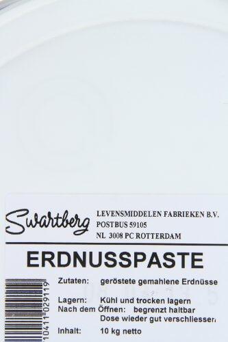 Swartberg Erdnusspaste, 100% Erdnüsse, 1er Pack (1 x 10 kg Packung) - 2