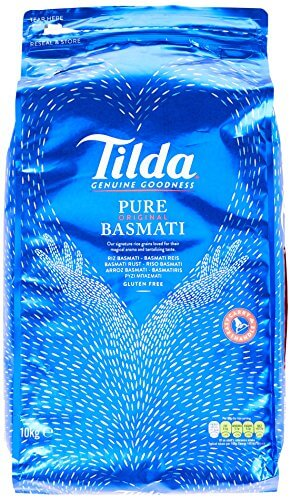 Tilda Pure Original Basmati Rice, 1er Pack (1x10kg) - 1