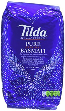 Tilda Pure Original Basmati Rice, 2er Pack (2 x 2 kg) - 1