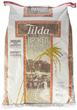Tilda Reis Basmati bruch Sk, 1er Pack (1 x 10 kg) - 1