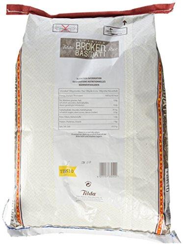 Tilda Reis Basmati bruch Sk, 1er Pack (1 x 10 kg) - 3