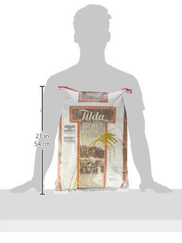 Tilda Reis Basmati bruch Sk, 1er Pack (1 x 10 kg) - 4